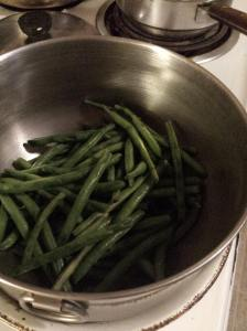 cooking long beans