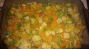 squash stuffing casserole