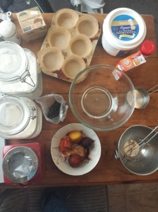 before making muffins