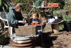 gardening off grid