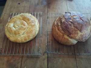 loaves of rose bread