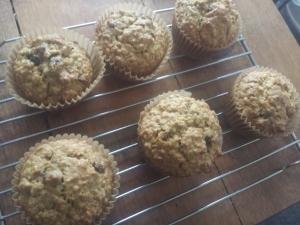 sunshine carrot muffins