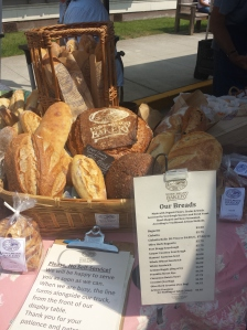 fort bragg bakery bread display