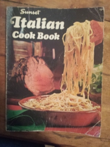 my 1979 Italian cookbook