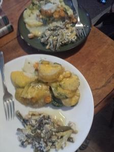 my husbands and elijahs plate