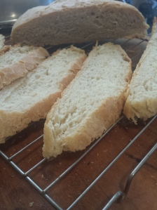 cut up unshaped loaf