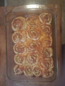 after baking