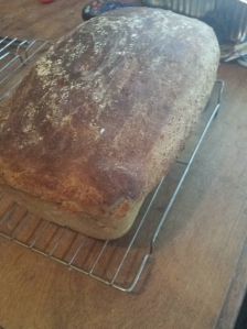 out of pan large loaf; top