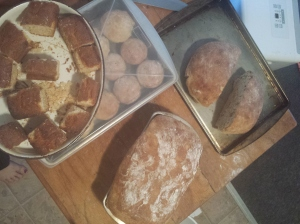 everything I baked yesterday