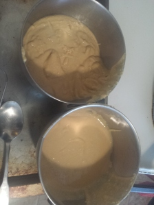 batches of peanut butter