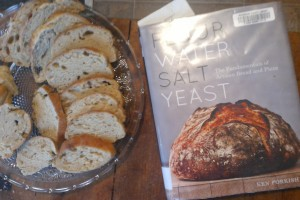 homemade bread and bread book