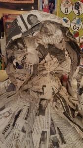 paper mache work