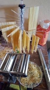 making angel hair pasta