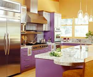 bright-kitchen-cabinets-purple